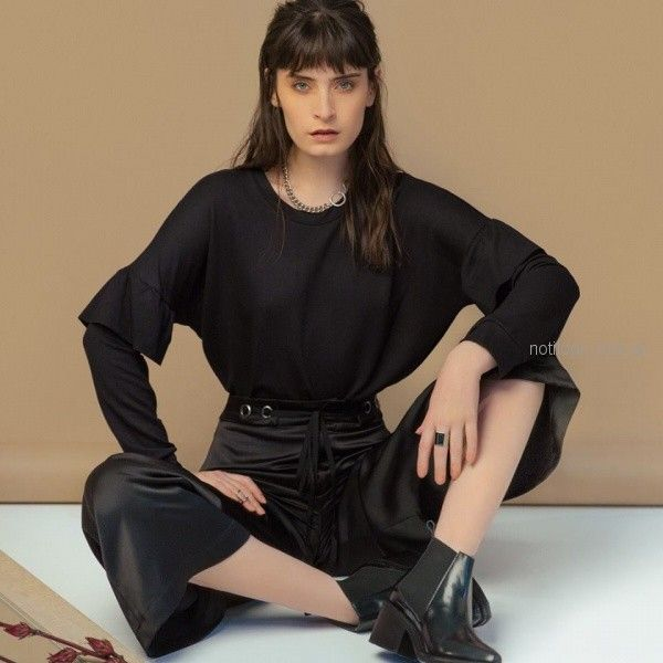 pantalon tiro alto con lazo ag Store invierno 2018