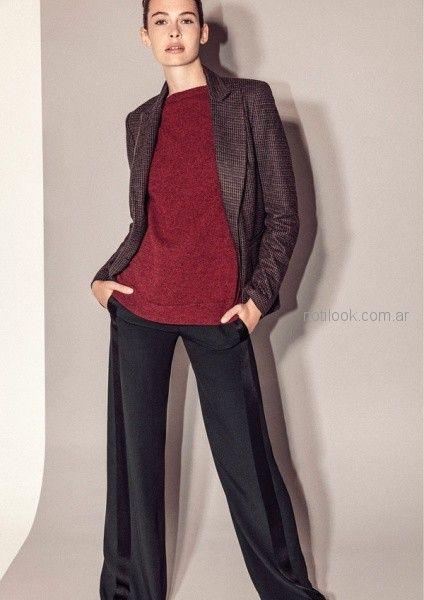 saco britsh - outfit oficina otoño invierno 2018 - Graciela Naum