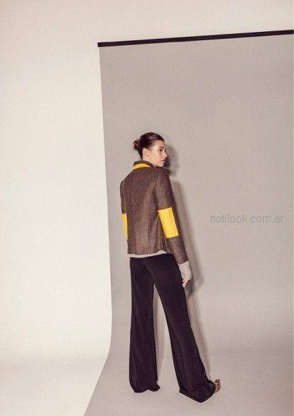 saco - outfit oficina otoño invierno 2018 - Graciela Naum
