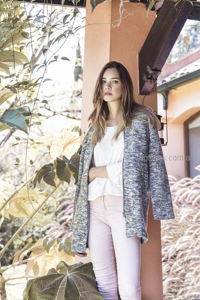 saco tejido en lana orix otoño invierno 2018