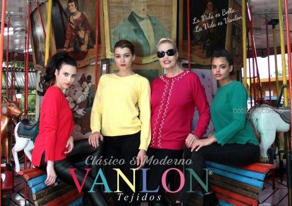 sweater de colores para mujer invierno 2018 - Vanlon