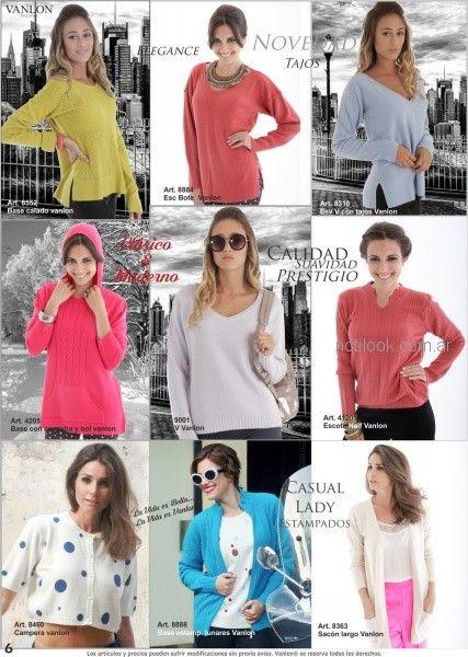 sweater para mujer invierno 2018 - Vanlon