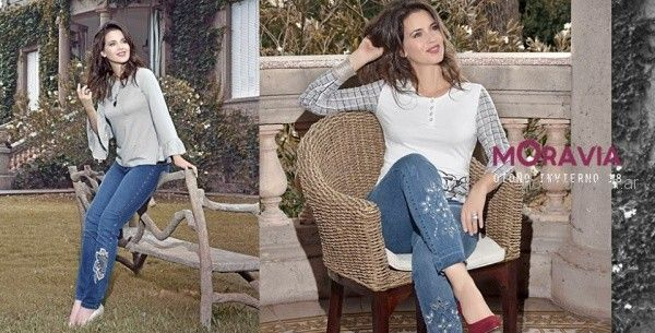 jeans bordados Moravia jeans invierno 2018