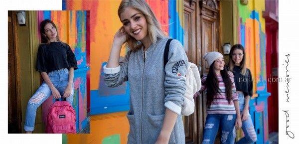 look informal juvenil adolescentes Te lo juro invierno 2018