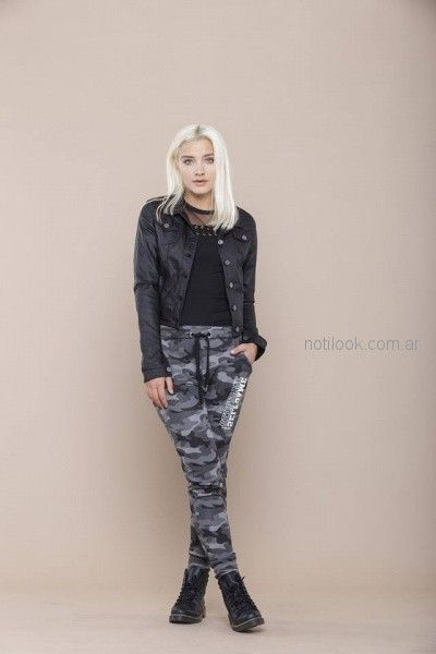 pantalon camuflado mujer look rockero mujer tabatha jeans invierno 2018