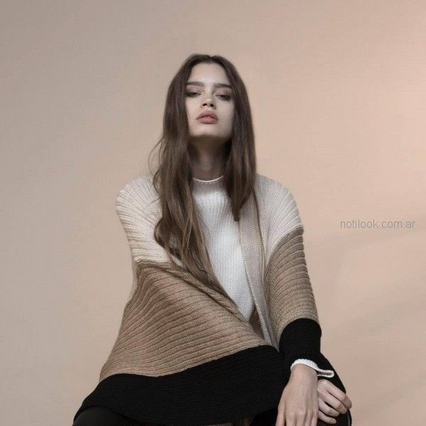 tejidos elegantes para mujer Marcela ¨Pagella otoño invierno 2018