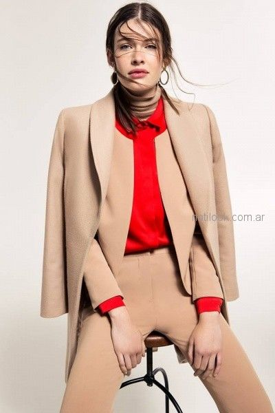 trajes para mujer Cacharel argentina invierno 2018