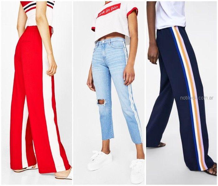 0ae40e0ec Pantalones con rayas verticales - ropa de moda verano 2019 Argentina