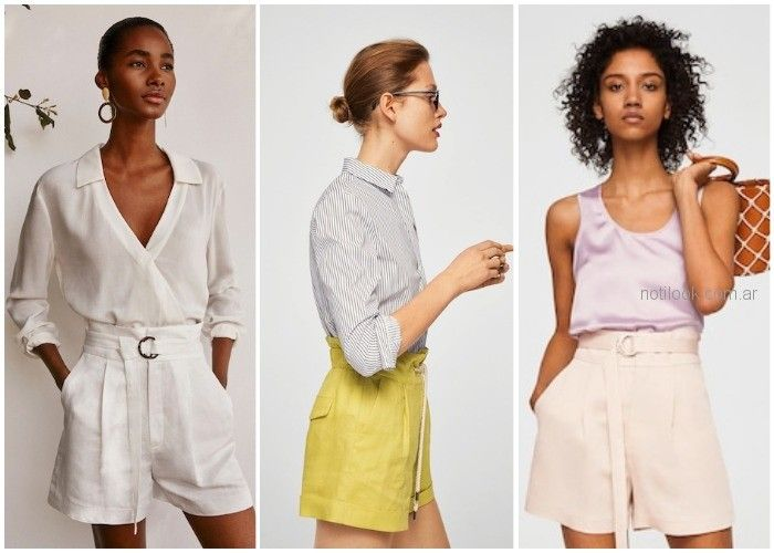 Short de lino - ropa de moda verano 2019 Argentina