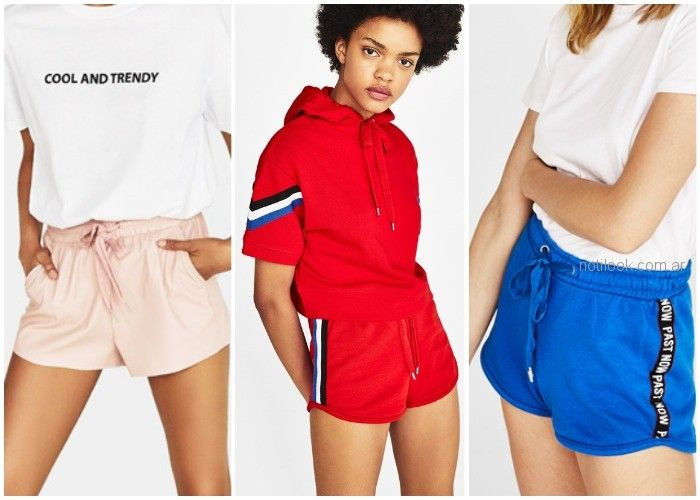 Short deportivos - ropa de moda verano 2019 Argentina