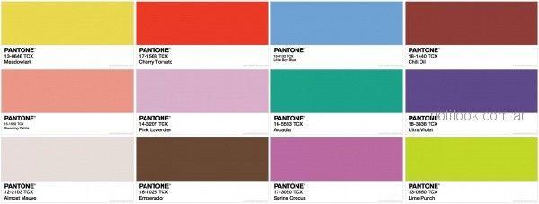 Que colores se usan en el verano 2018 en argentina - Paleta cromatica de colores ...