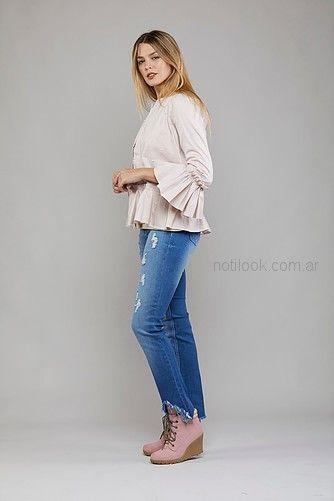 blusas informales mujer Kodo jeans invierno 2018