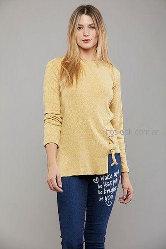 buzos lana mujer Kodo jeans invierno 2018