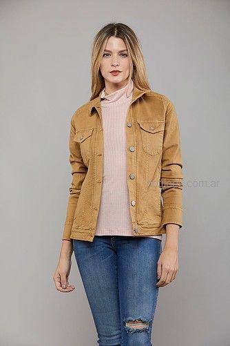 campera jeans color Kodo jeans invierno 2018