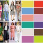 Tendencias – Colores de moda primavera verano 2019 – Argentina