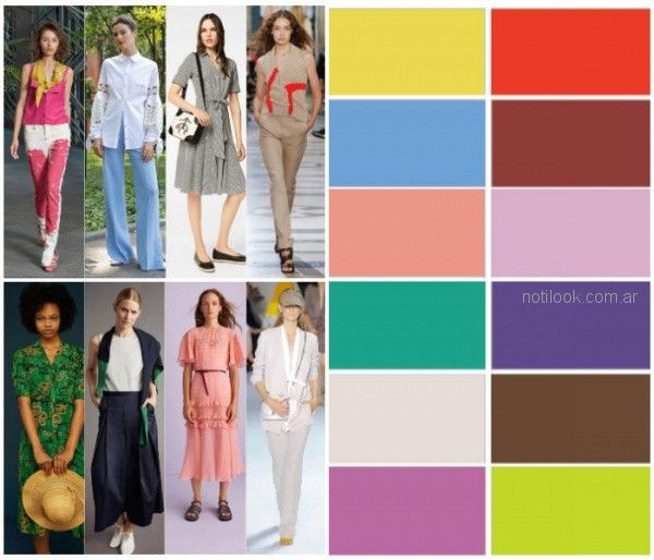 Colores de moda primavera verano 2019 argentina for Tendencia de color de moda