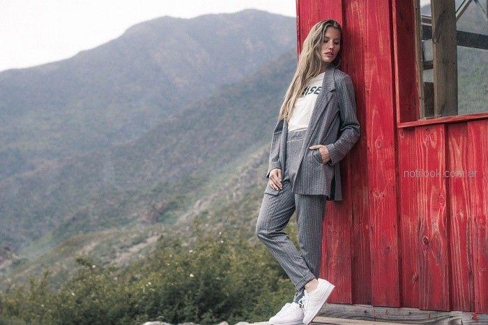 conjuntos trajes juveniles mujer AF jeans otoño invierno 2018