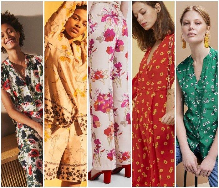 Colores primavera verano 2019 vestidos