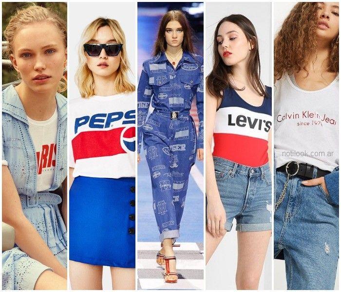 Moda verano 2019 mujer vestidos