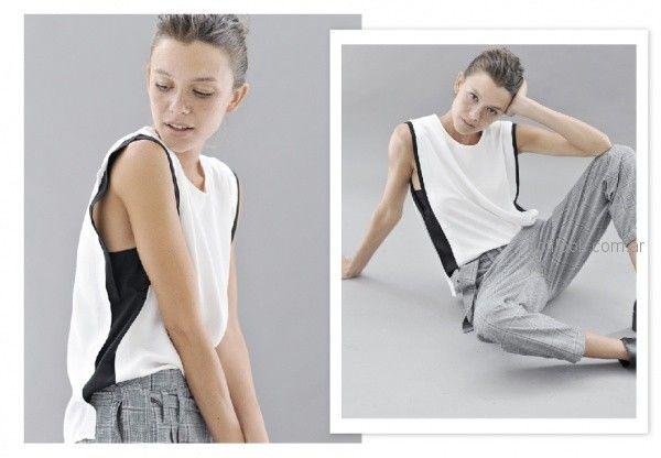 look urbano con pantalon ´plisado chupin Sicala invierno 2018
