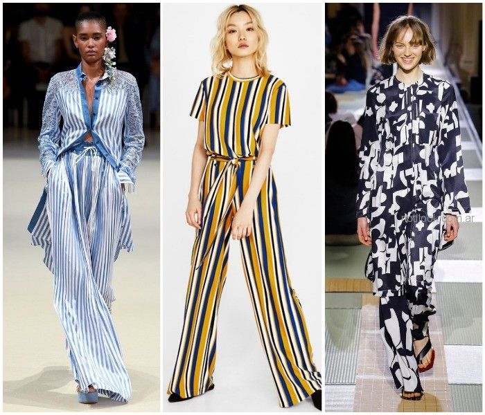 palazzos estampados - ropa de moda verano 2019 Argentina