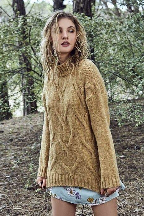 sweater lana mujer inversa otoño invierno 2018