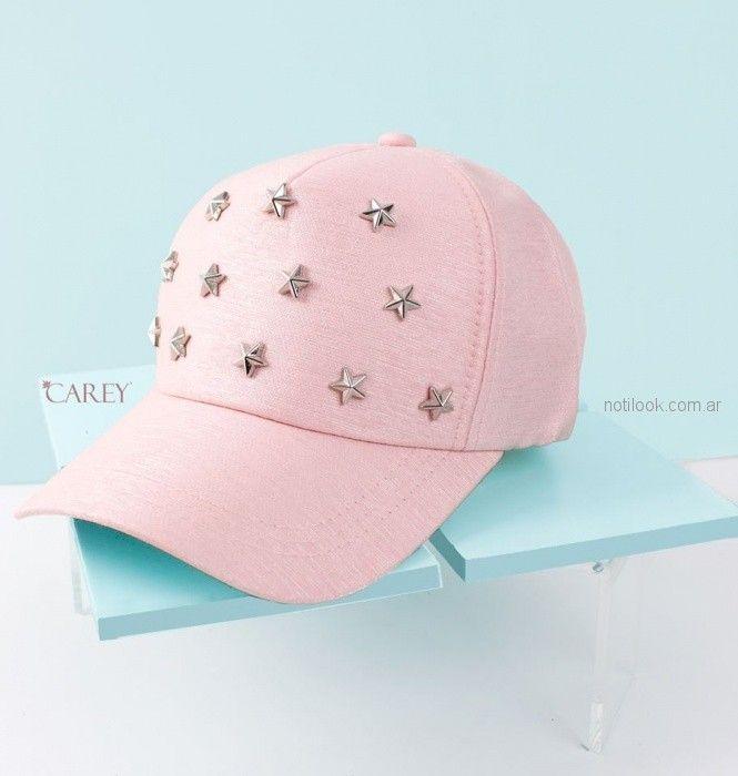 Carey accesorios anticipo verano 2019 - Caps para mujer