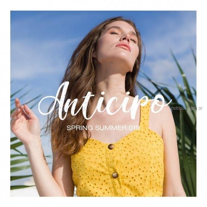 Cenizas Net - primavera verano 2019 - blusa con botones