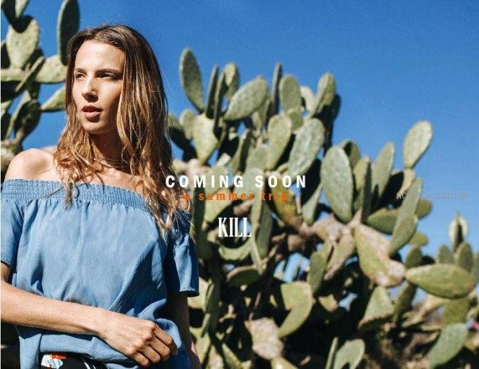 Kill - blusa de jeans verano 2019 anticipo