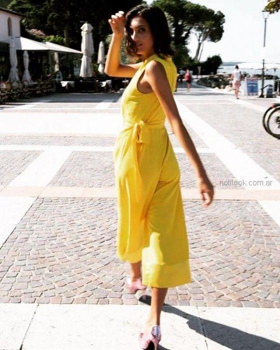Mono amarillo priamvera verano 2019 - Nolita