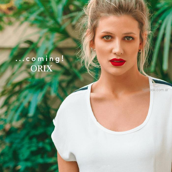Orix - adelanto coleccion verano 2019