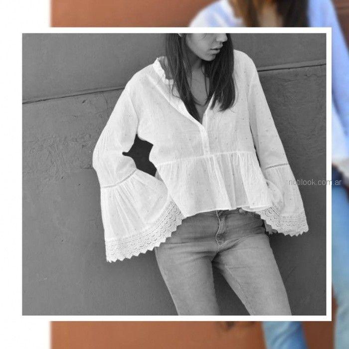 Zulas - camisola blanca verano 2019