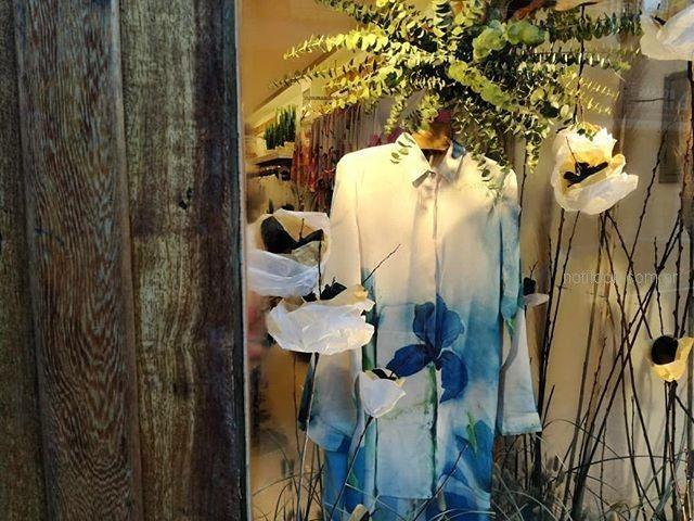camisa estampada larga primavera verano 2019 - Exordio