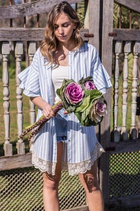 look romantico juvenil casual verano 2019 PAULA Y AGUSTINA RICCI