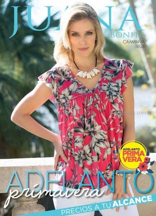 blusa casual Juana bonita verano 2019