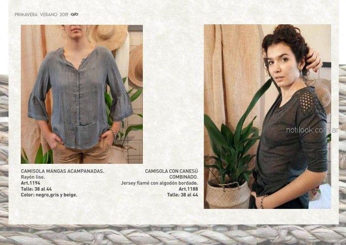 camisolas para señoras Las taguas verano 2019