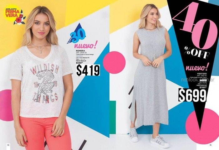 vestido largo jersey de algodon Juana bonita verano 2019