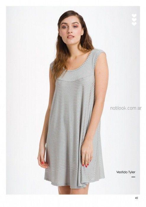vestidos cortos frescos y holgados Asterisco primavera verano 2019
