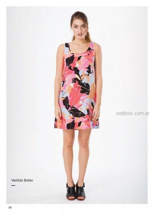 vestidos informales para señoras Asterisco primavera verano 2019