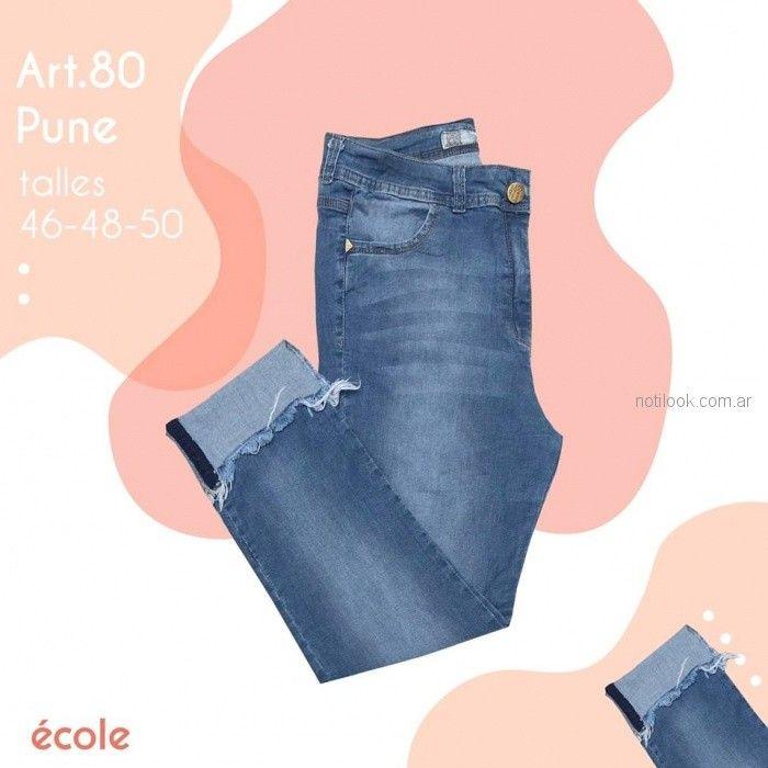 Ecole Jeans recto primavera verano 2019