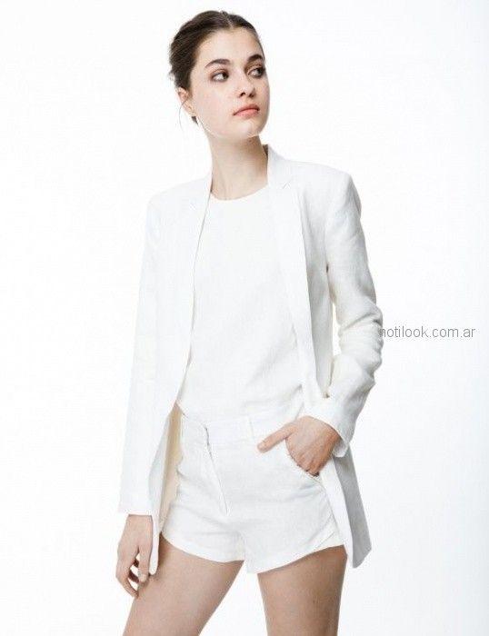blazer blanco juvenil Ginebra verano 2019