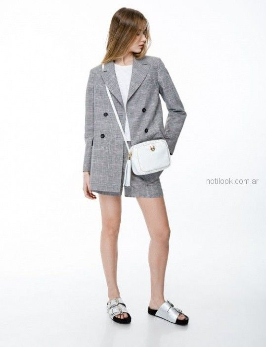 blazer largo medio mujer Ginebra verano 2019
