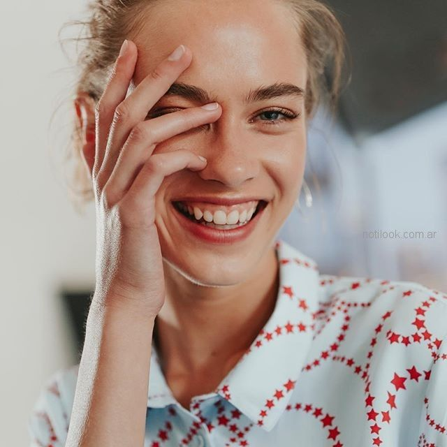 camisas estampadas para señoras yagmour verano 2019