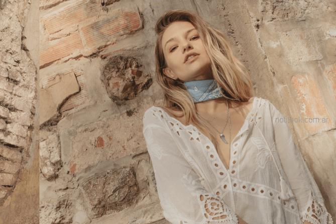 camisola blanca primavera verano 2019 - Sweet