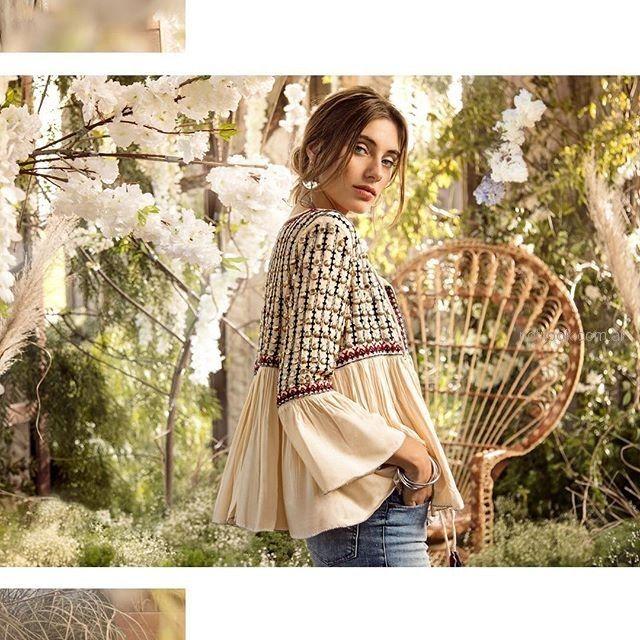 camisola bordada verano 2019 - Cuesta Blanca