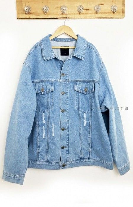 campera de jeans rustica Lovely Denim verano 2019