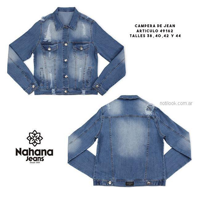 campera jeans - Nahana verano 2019