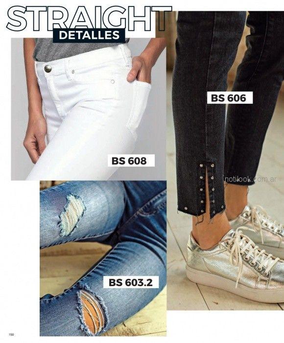 detalles para jeans mujer martina di trento verano 2019
