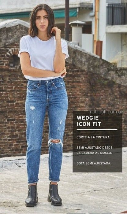 jeans Levis mujer verano 2019