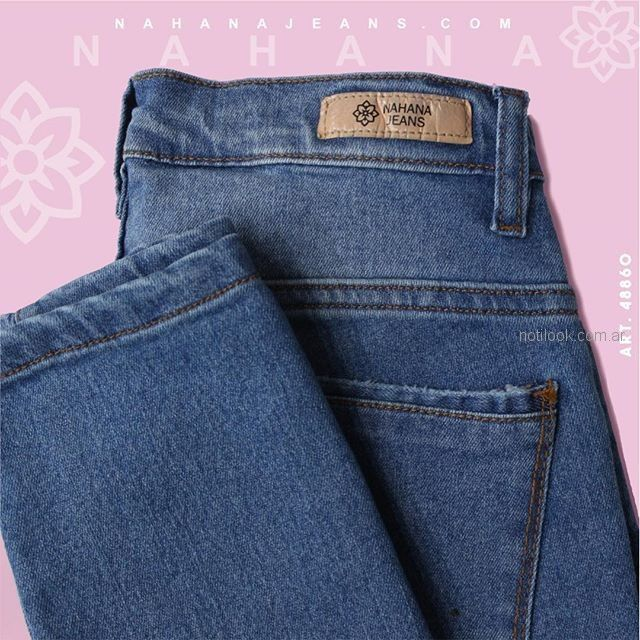 jeans clasico mujer - Nahana verano 2019